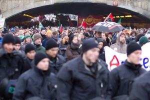 "Demonstration ""Alternativen zu Deutschland"" am 31. Januar 2015 (CC-BY 2015 Sebastian Raible / @FreakkaerF / Stadtkontext.de)"