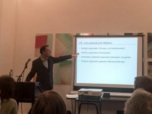 Herr Prof.  Zick erklärt Herkünfte für Antisemitismus