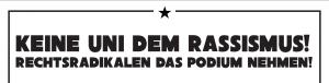 Aufruf zum Gegenprotest des AStA der Uni Bremen